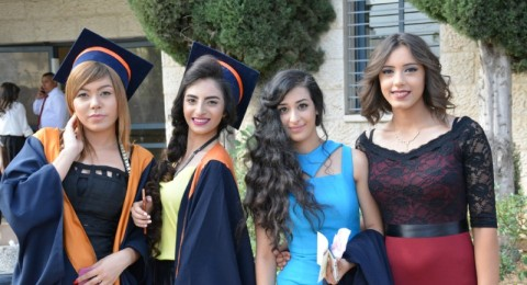الجليل الثانوية في الناصرة  تحتفل بتخريج الفوج الـ64