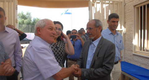 وزير العمل والرّفاه يفتتح مركز ريّان-القيصوم ويلتقي برؤساء السلطات المحليّة البدوية في النقب