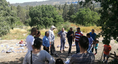 المجيدل: المهجّرون يزورون بلدتهم بمشاركة النائب د.جبارين