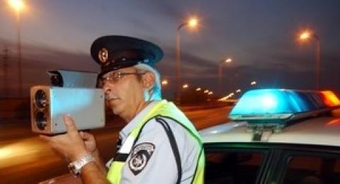 سائق من دير الأسد ضبط يقود سيارتة بسرعة 144كم/س
