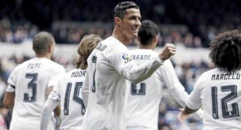ريال مدريد يدك مرمى إسبانيول بسداسية ورونالدو يسجل هاتريك